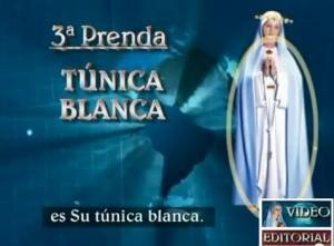 3 tunica blanca