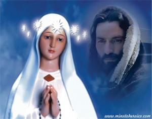 Virgen y Jesús