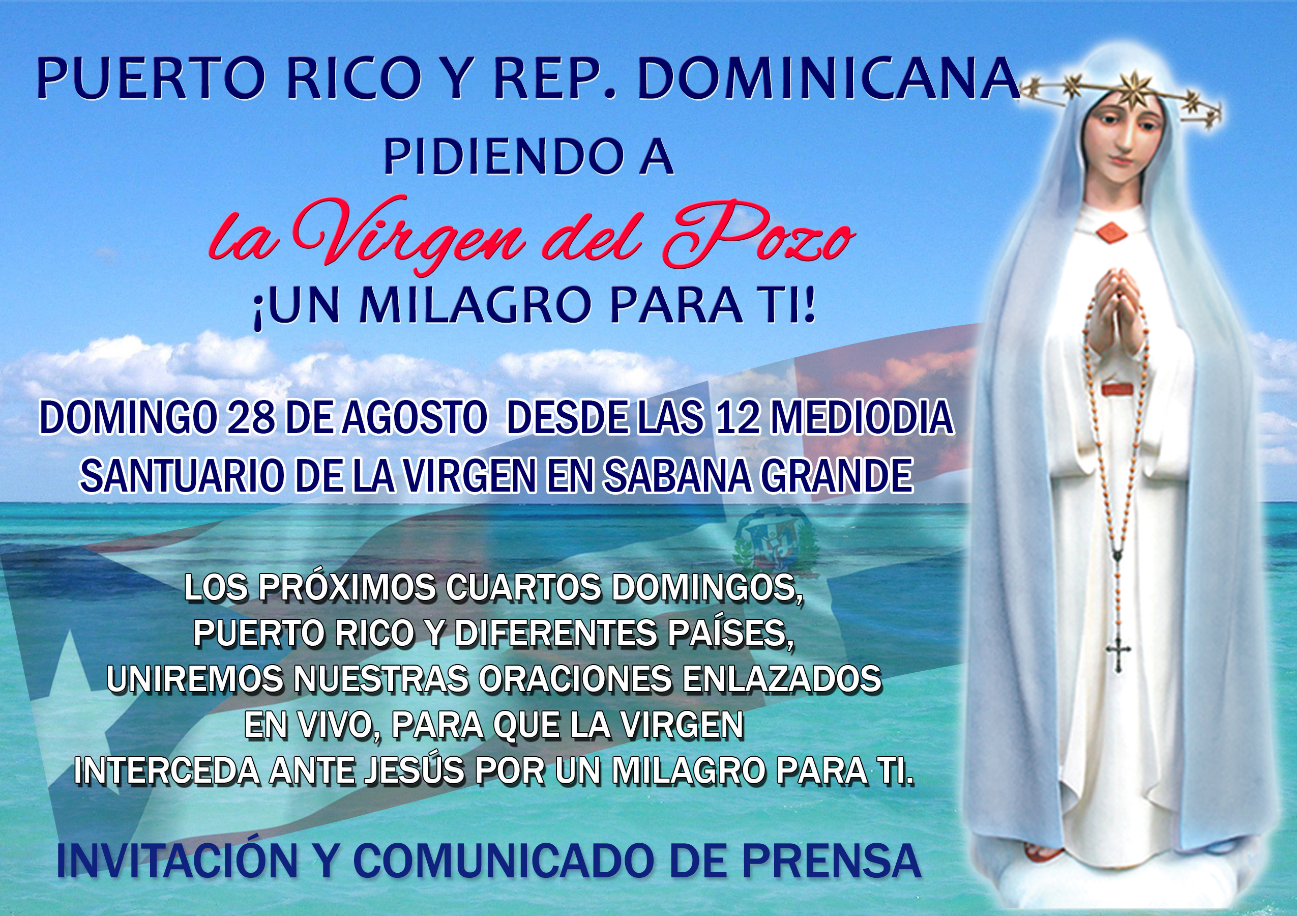 INVITACION _4TO DGO DE AGOS_ PR con comunicado de Prensa